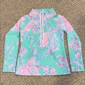Lilly Pulitzer 1/2 zip size XS